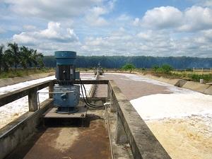 Hệ thống xử lý nước thải mủ cao su