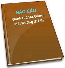 Thông tư 27/2015/TT-BTNMT về báo cáo đánh giá tác động môi trường DTM.